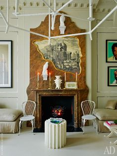 Квартира декоратора Ники Хэслема в Лондоне