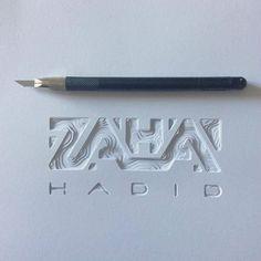 Zaha Hadid by Patrick Cabral