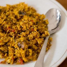 Recipe for Chettinad style spicy Mushroom Biryani. Pressure Cooker Method. With step by step pictures. Very good biryani for a big gathering / parties.