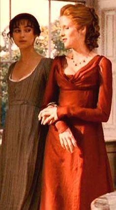 Pride and Prejudice, Caroline Bingley and Lizzy