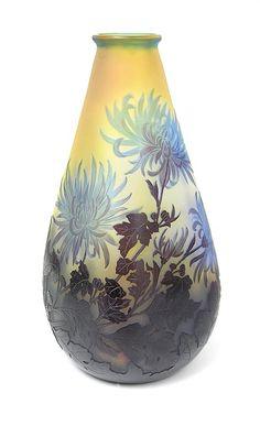 Gallé (Galle), Chrysanthemum Vase