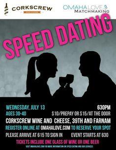 Speed dating strategies