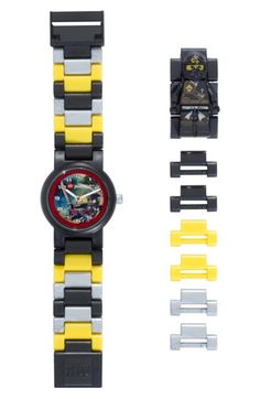 LEGO 'Ninjago - Cole' Character Watch & Figurine (Kids)
