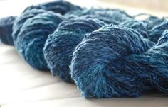 SEASCAPE Cotton Linen Yarn 100gr/3.5oz by WoolFinchStudio on Etsy, €6.00