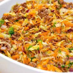 Er 5, Ny Ny, Fried Rice, Bacon, Food And Drink, Veggies, Keto, Healthy Recipes, Dinner