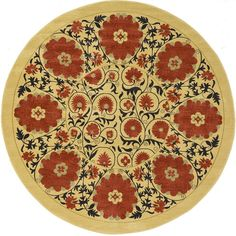 Heritage Cream Area Rug