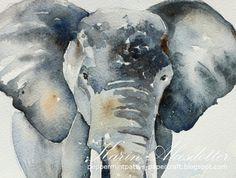 Sunday Watercolors: Travel memories - Namibia