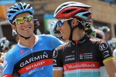 Tour of Utah Stage 6 Christian Vande Velde and Matthew Busche Photo credit: Greg Hull ©2012 Middle Aged Ski