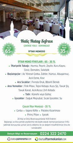 61 En Iyi 2018 Bursa Iftar Menüleri Ve Iftar Fiyatları Görüntüsü