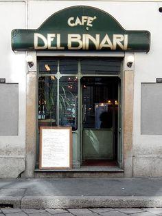 Milano cafe del binari
