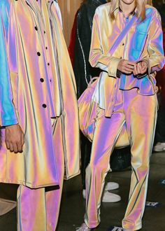 "midnight-charm: "" Backstage at Sies Marjan Fall / Winter 2018 Photography by Corey Tenold "" Runway Fashion, High Fashion, Fashion Show, Womens Fashion, Fashion Trends, Fashion 2017, Ladies Fashion, Fashion Styles, Fall Fashion"