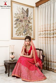 ‪#‎UrbanDesiBride‬ ‪#‎NewCollectionAlert‬ Red Bridal Lehenga adorned with intricate Golden Butti work. Our Bridal Lehenga & Jewellery collection for the season would make any girl swoon.. <3 Model: Zoya Patel MUA: Saba poonawala Hair & Make-up Artist Photographer: Allan SD ‪#‎Bridal‬ ‪#‎Designerwear‬ ‪#‎RedLehenga‬ ‪#‎Gold‬ ‪#‎Embroidery‬ ‪#‎IndianFashion‬ ‪#‎RentAnAttire‬ ‪#‎TryitBookitFlauntit‬ ‪#‎HappyRenting‬ ‪#‎Differentisbeautiful‬ ‪#‎Punebloggers‬ ‪#‎Pune‬ ‪#‎Wedmegood