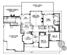 Arts and crafts house floor plans House and home design