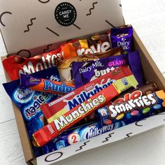 British Lite Bite Chocolate Bar Selection Box