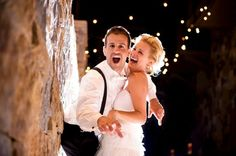 Having the time of their lives... late night at the Four Seasons in Vail, Colorado, under the bistro lights. photo: www.dreamtimeimages.com planner: www.idoweddingservices.com