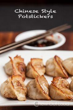Potstickers (Asian Dumplings) - Chew Out Loud