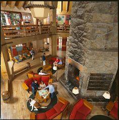 Timberline Lodge, Mt. Hood, Oregon. An architectural gem atop a natural wonder.
