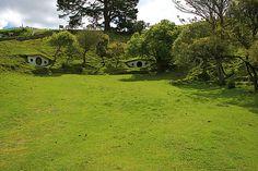 Hobbiton, Hobbitebourg, Matamata, village des Hobbits, Auckland, Nouvelle…