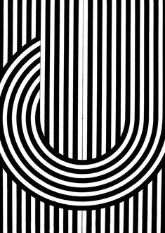 The curvature of these lines that break the rules emphasize the straightness of the lines that remain in the pattern. This also adds visual interest to an otherwise bland pattern. Textile Patterns, Cool Patterns, Print Patterns, Op Art, Geometric Designs, Geometric Shapes, Pattern Art, Pattern Design, Illusion Art