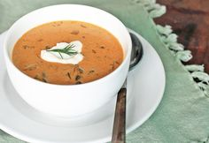 Gomba Leves- a Hungarian Mushroom soup that's smoky and creamy. A vegetarian soup that's flavored with paprika, dill and sour cream. Croatian Recipes, Hungarian Recipes, Vegetarian Soup, Vegetarian Recipes, Hungarian Mushroom Soup, Hungarian Cuisine, Hungarian Food, Stuffed Mushrooms, Stuffed Peppers