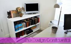 Free Woodworking Plans to Build a Traditional Base Unit Bookshelf | The Design Confidential
