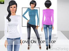 sims2fanbg's Love On Top - Top