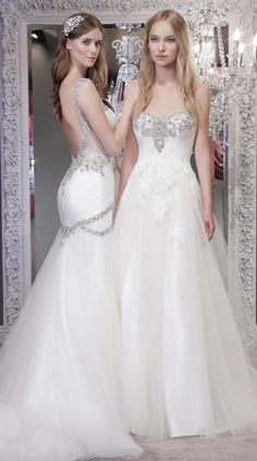Courtesy of Winnie Couture Wedding Dresses; www.winniecouture.com; Wedding dress idea.