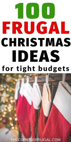 100 Frugal Christmas Ideas to save money at Christmas. This is a HUGE list of free or practically free frugal Christmas gifts, traditions, activities, and more! Read on to keep your frugal Christmas budget intact! Christmas On A Budget, Homemade Christmas, Family Christmas, Christmas Gifts, Christmas Ideas, Christmas 2019, Christmas Makes, All Things Christmas, Charlie Brown Christmas