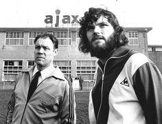 Rinus Michels and Barry Hulshoff, AFC Ajax