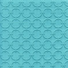 Full Circle Turquoise Blue Matelasse Fabric - SW47989 - Fabric By The Yard At Discount Prices