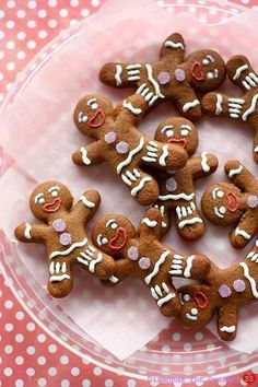 gingerbread men...