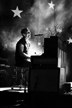 Chris at the piano #coldplay