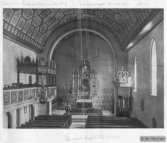 Allenburg, Stadt, Evangelische Kirche XII - Innenraum nach dem Wiederaufbau