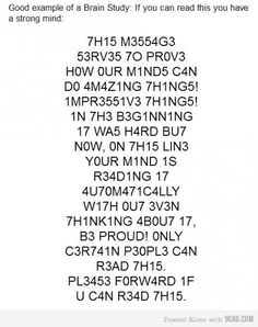 I can read it *gasp*