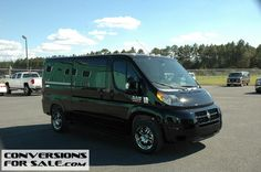 2014 Ram ProMaster 1500 Low Roof Sherry Conversion Van
