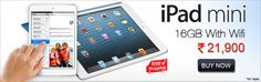 This mini tablet from Apple is now available at http://deals.jeetle.in/ for a starting price of Rs 21,900.