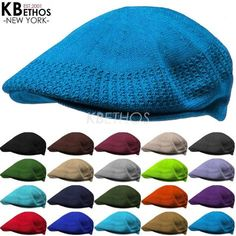c5708f0d612 Classic Mesh Ivy Newsboy Ivy Cap Hat Crochet Driving Golf Ventair Ivy NEW   KBETHOS