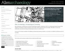 An Archeology Website - very cool!