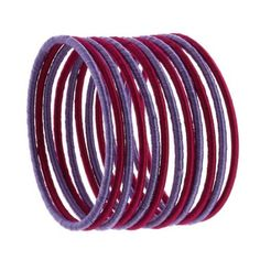 Amazon.com: Bollywood Jewelry Costume Bangle Bracelet Fashion Jewelry Indian Colorful Thread: Furniture & Decor