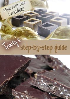 How to make healthy home made chocolate. Step by step video guide with Trinity Bourne.