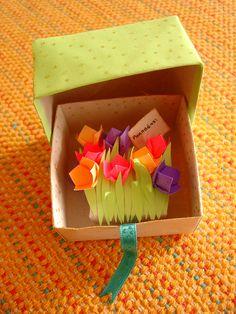 caixa de origami