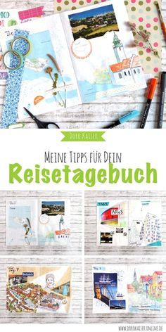 DIY Basteln: Mein Tipps und Ideen, wie Du Dein Reisetagebuch ohne großen Aufwand gestalten kannst | www.dorokaiser.online.de