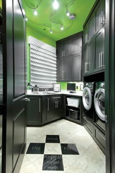 Laundry Room by Andrea Cromwell.