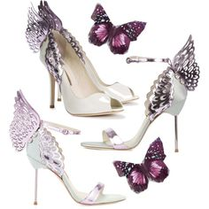 My Winged Heels by charityheels on Polyvore featuring Mode and Sophia Webster