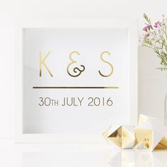 Are you interested in our personalised initial print? With our personalised framed print you need look no further.