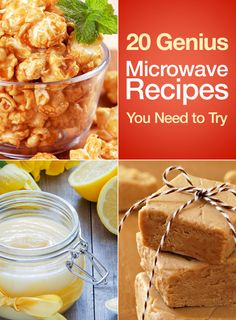 20 Genius Microwave Recipes You Need to Try