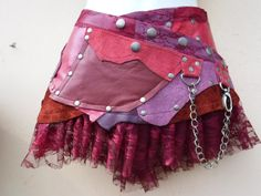 20% OFF...BURNING Man festival   patchwork leather by wildskin