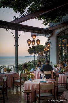 Zass' restaurant terrace - Hotel Il San Pietro di Positano - Ph. Vito Fusco Arkimedia Lab