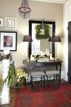 Love it all. Need a tiny bench in our foyer!