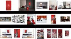 Wandbilder Abstrakte Acrylbilder handgemalt Slavova Art